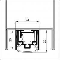 Автоматический порог EllenMatic Ferro-S - фото