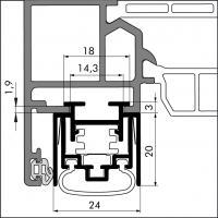 Автоматический порог EllenMatic Ferro EG - фото