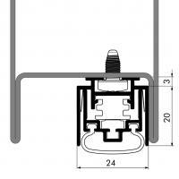 Автоматический порог EllenMatic Ferro EG - фото #2